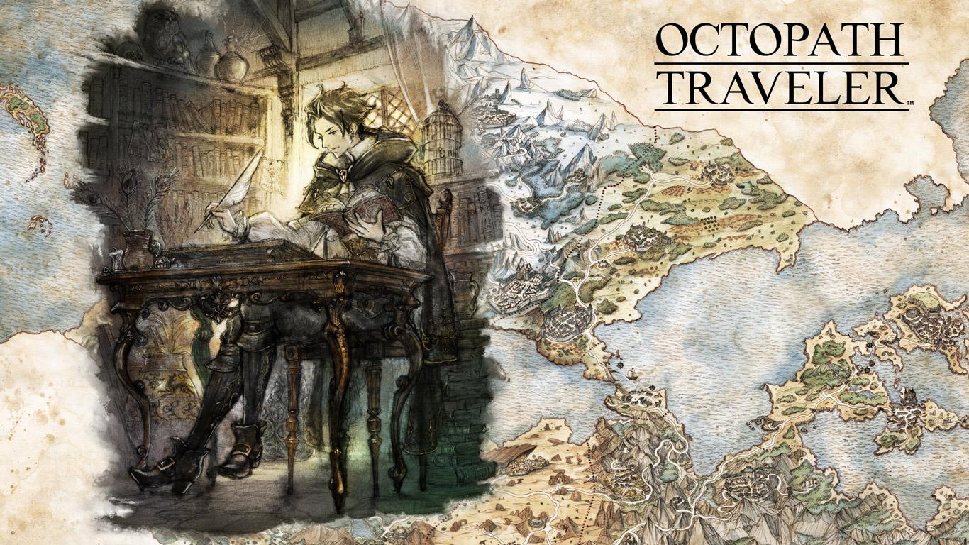 Free Octopath Traveler Wallpaper in 1366x768
