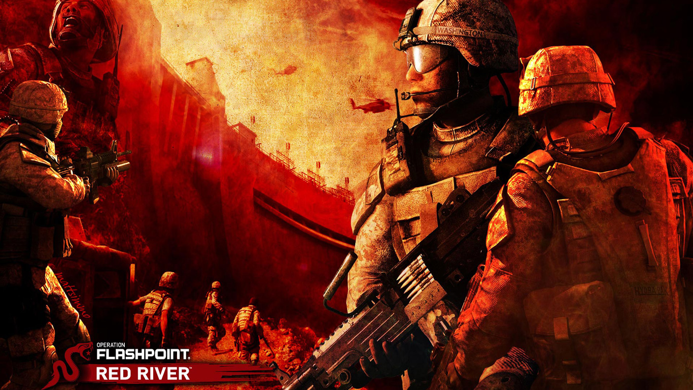 Operation Flashpoint: Red River Wallpaper in 1366x768