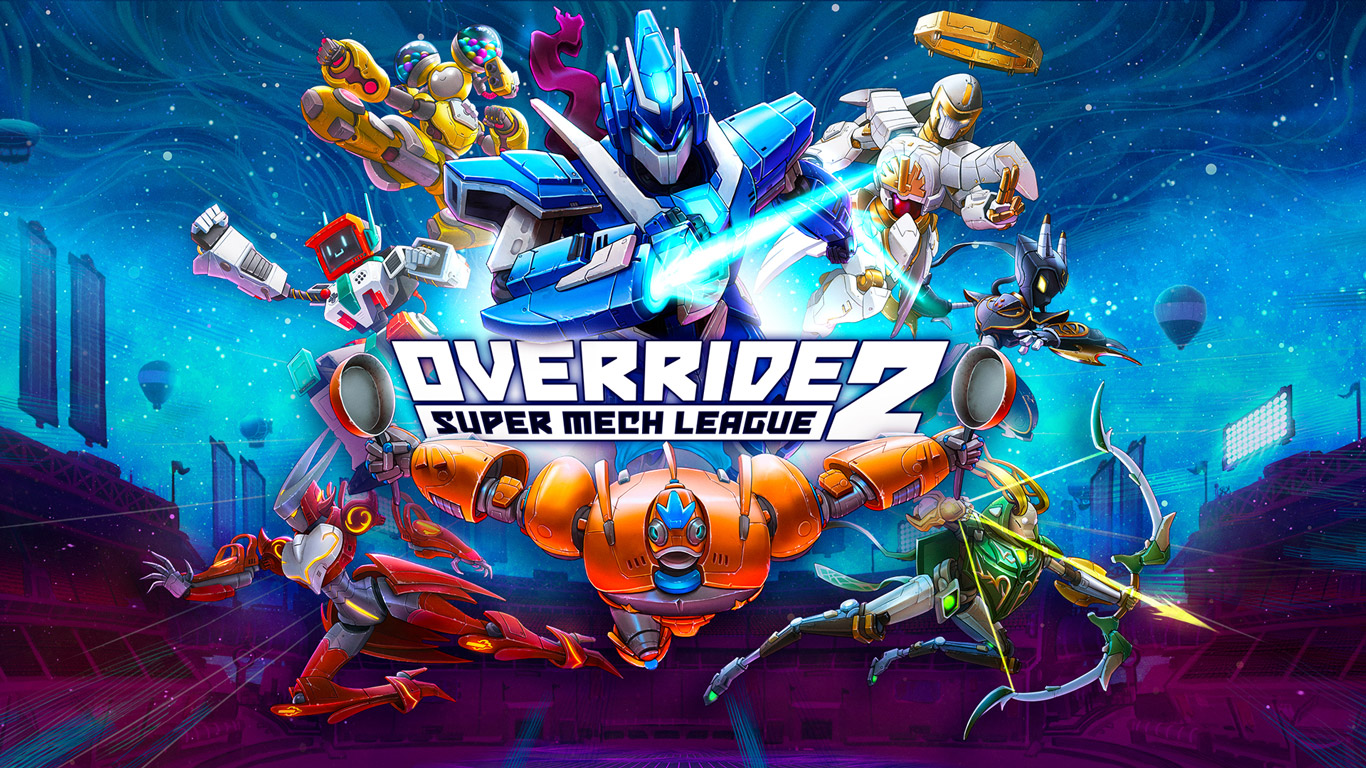 Override 2: Super Mech League Wallpaper in 1366x768