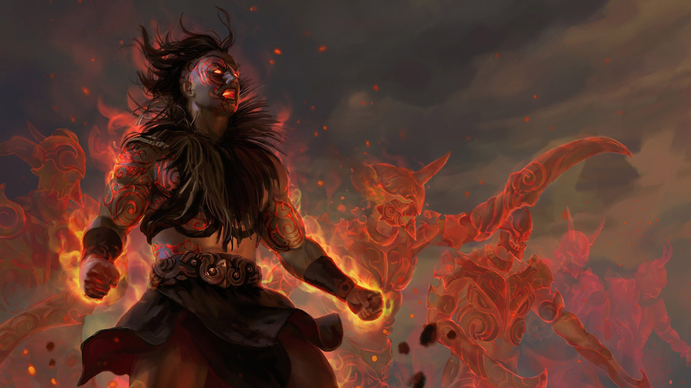 Free Path of Exile 2 Wallpaper in 1366x768