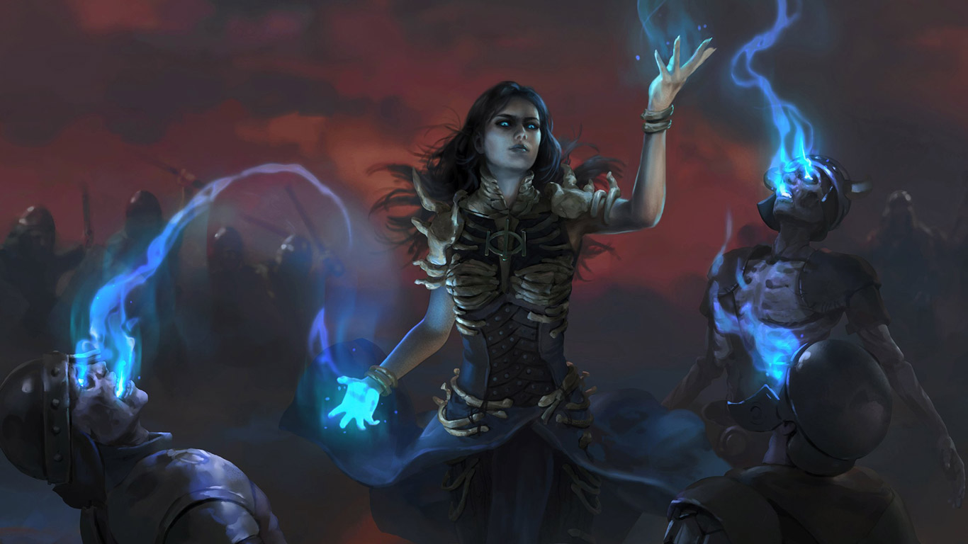 Path of Exile 2 Wallpaper in 1366x768