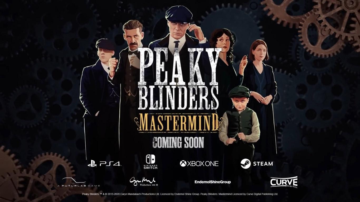 Free Peaky Blinders: Mastermind Wallpaper in 1366x768