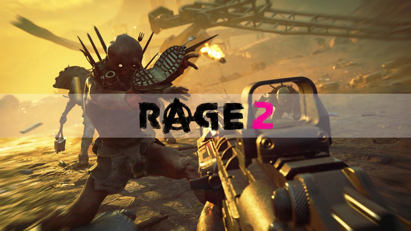 Rage 2 Wallpaper in 1366x768