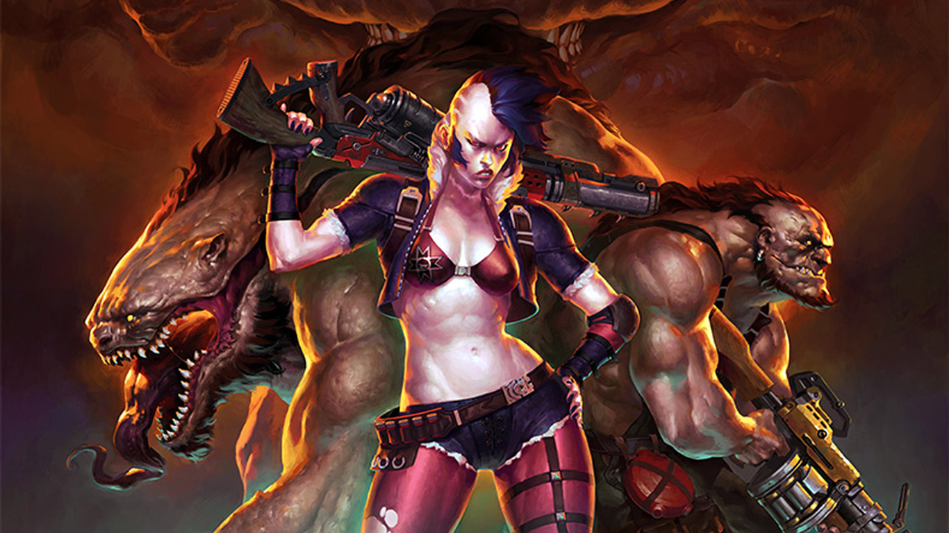 Spacelords Wallpaper in 1366x768