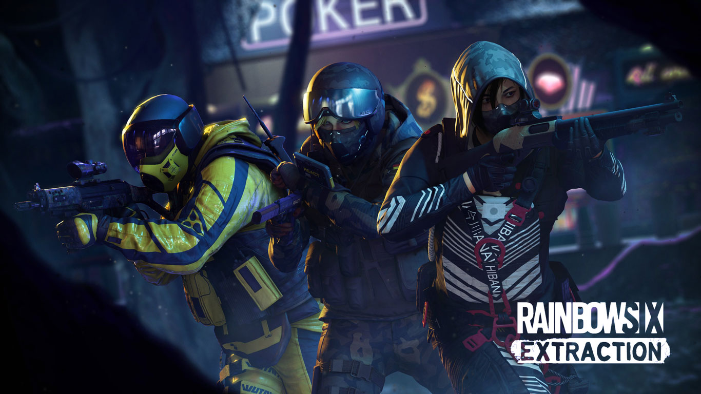 Free Rainbow Six Extraction Wallpaper in 1366x768