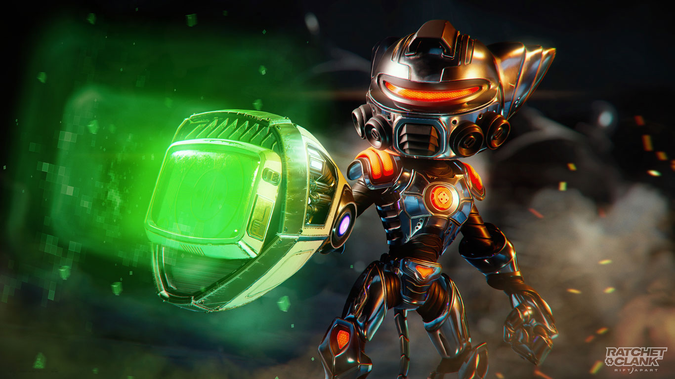 Free Ratchet & Clank: Rift Apart Wallpaper in 1366x768