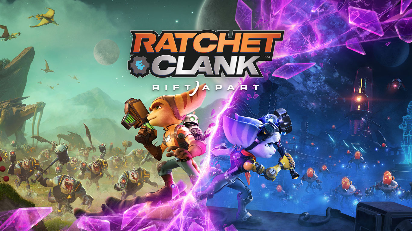 Free Ratchet & Clank: Rift Apart Wallpaper in 1366x768
