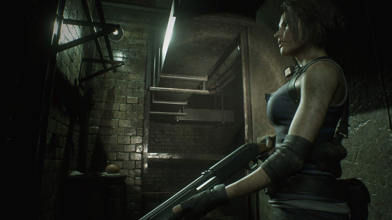 Free Resident Evil 3 Wallpaper in 1366x768