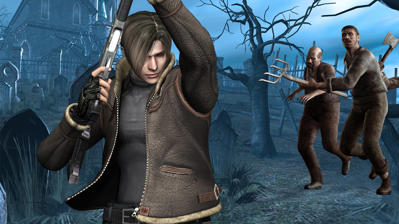 Resident Evil 4 Wallpaper in 1366x768