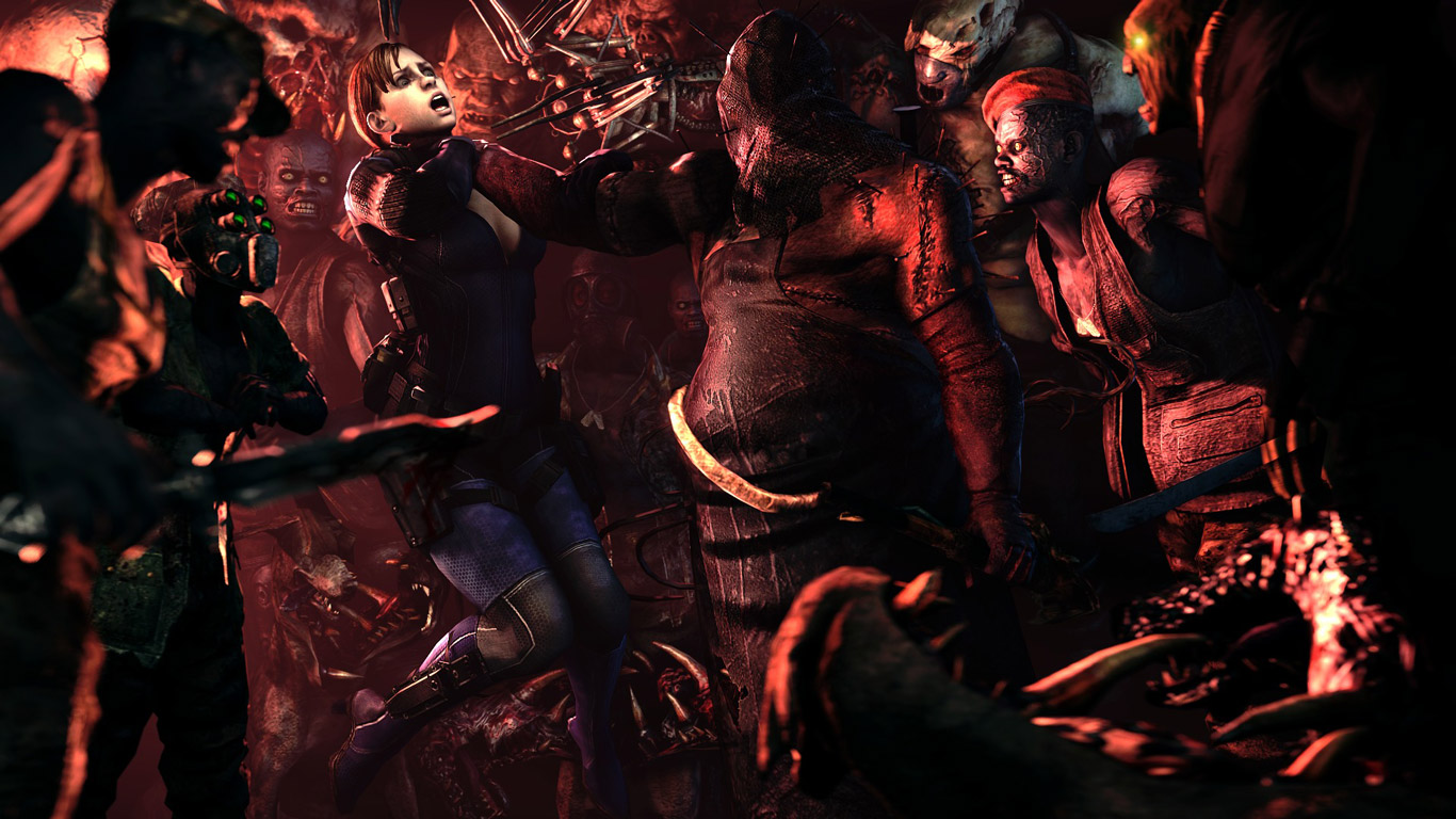 Free Resident Evil 5 Wallpaper in 1366x768