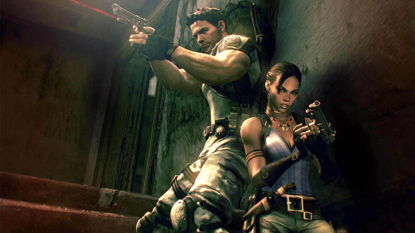 Free Resident Evil 5 Wallpaper in 1366x768