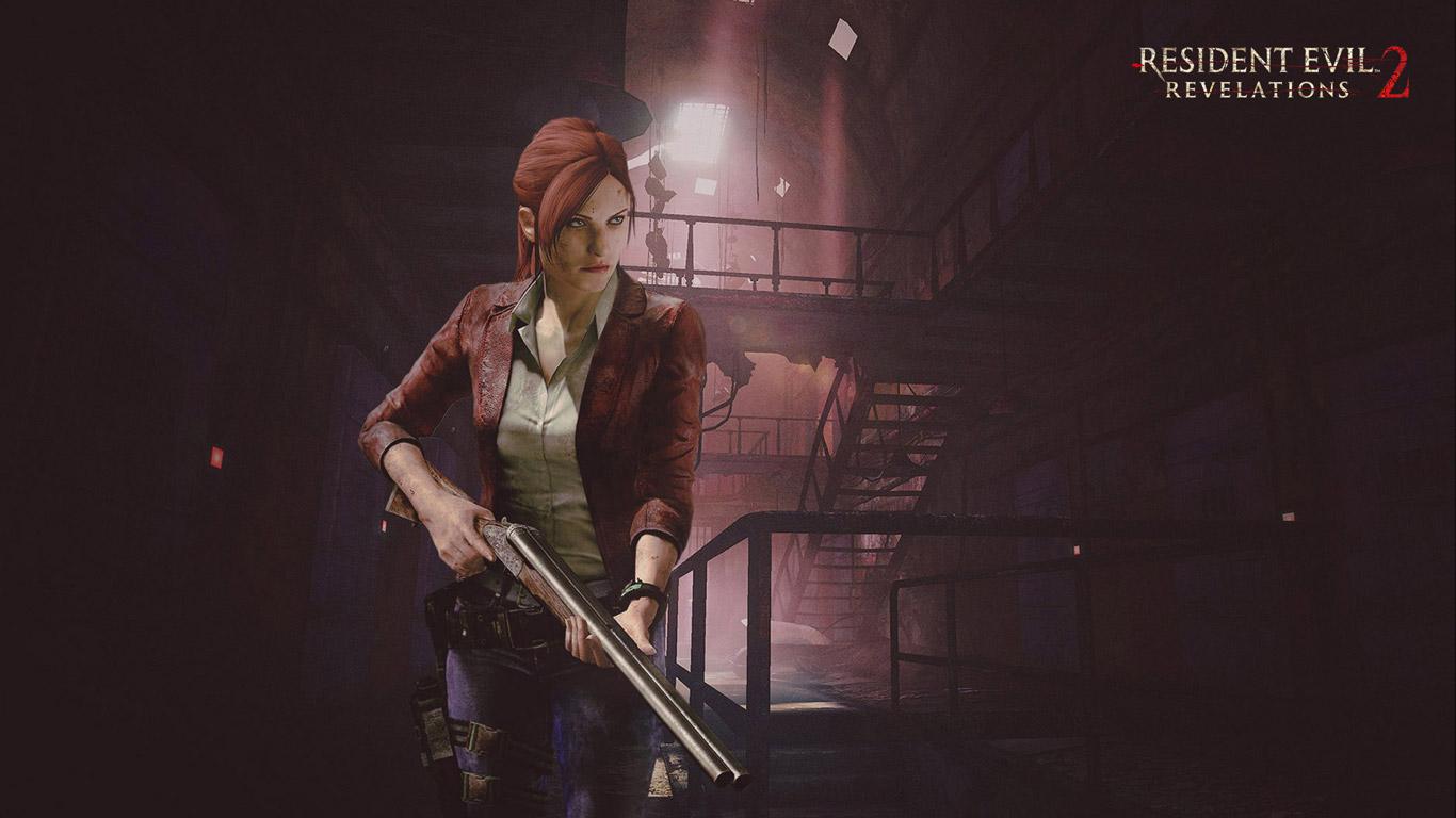 Free Resident Evil: Revelations 2 Wallpaper in 1366x768