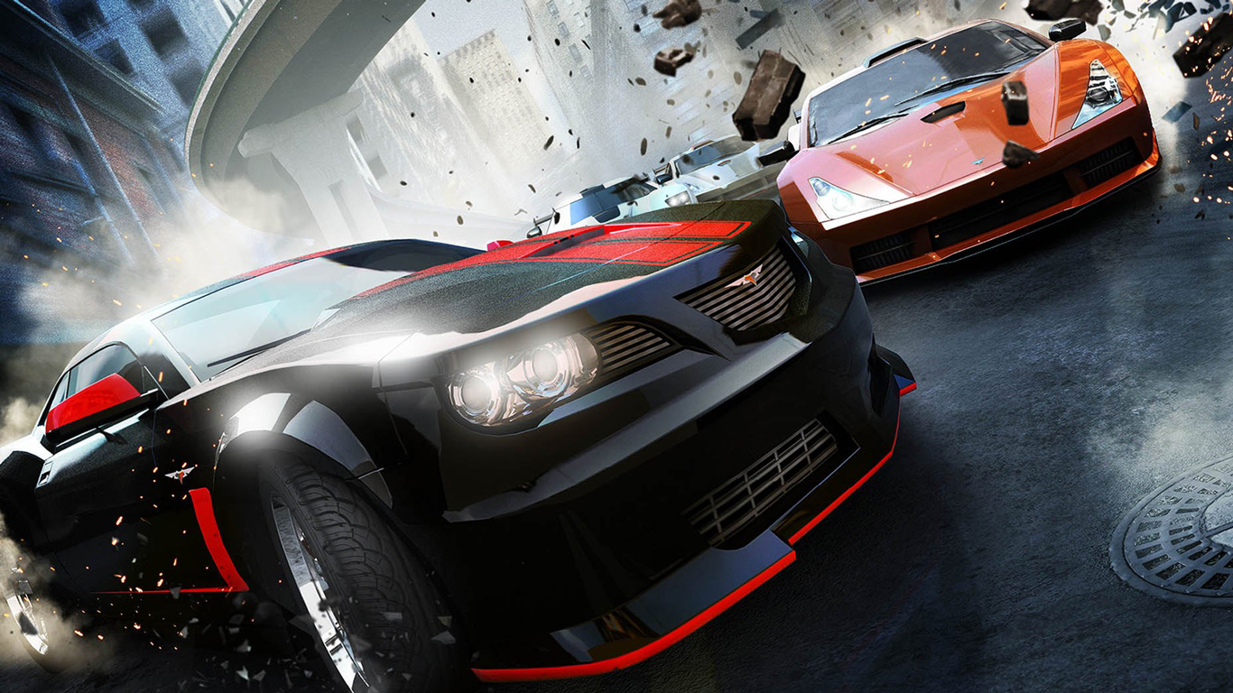 Free Ridge Racer Unbounded Wallpaper in 1366x768