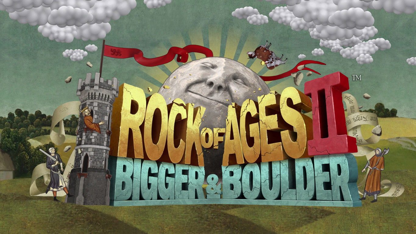Rock of Ages II: Bigger & Boulder Wallpaper in 1366x768