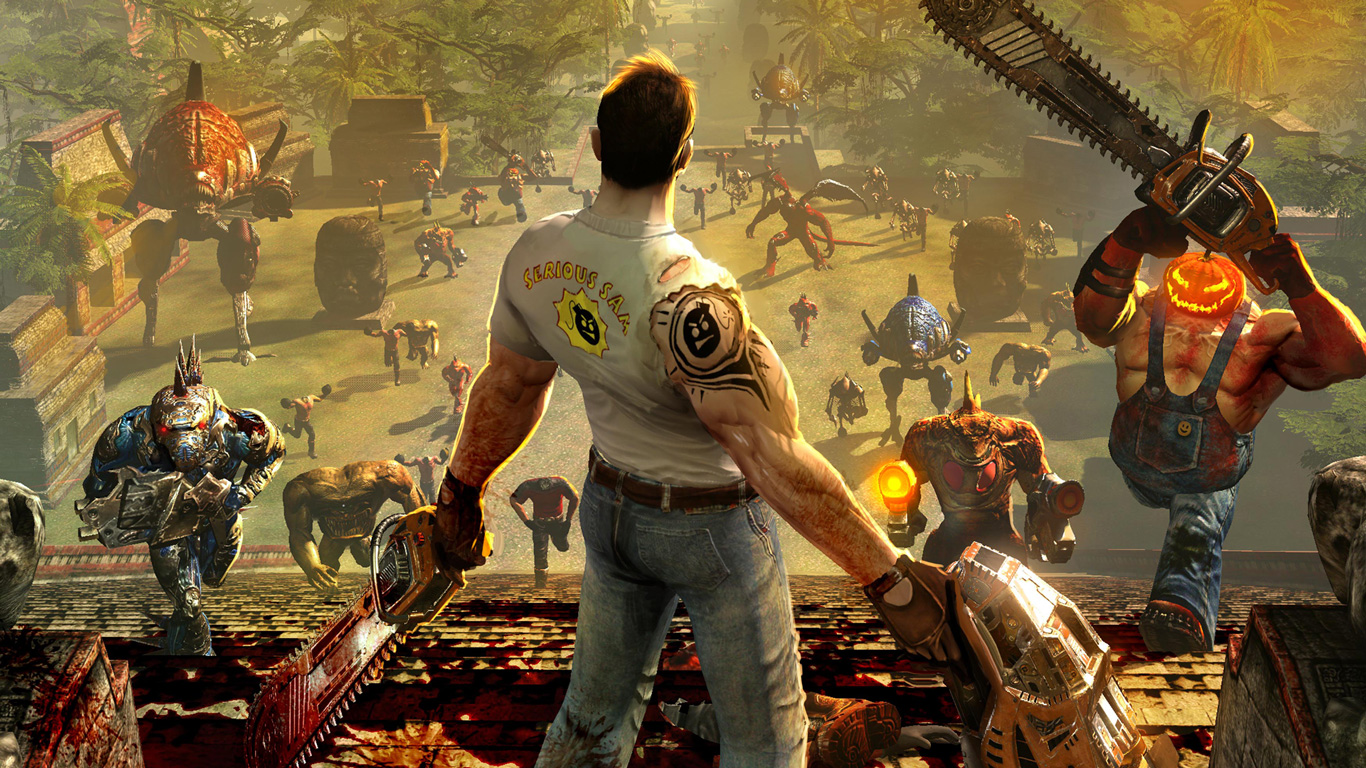 Serious Sam HD: The Second Encounter Wallpaper in 1366x768