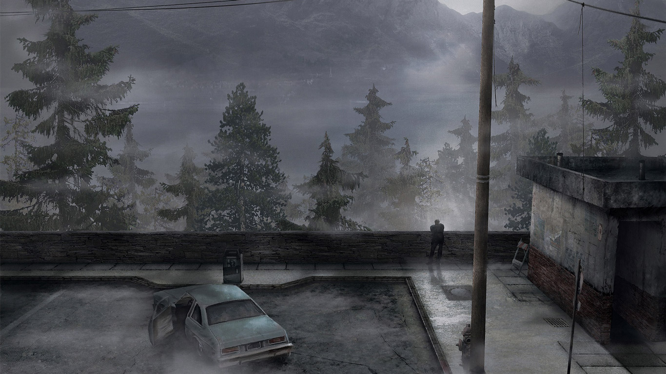Silent Hill 2 Wallpaper in 1366x768