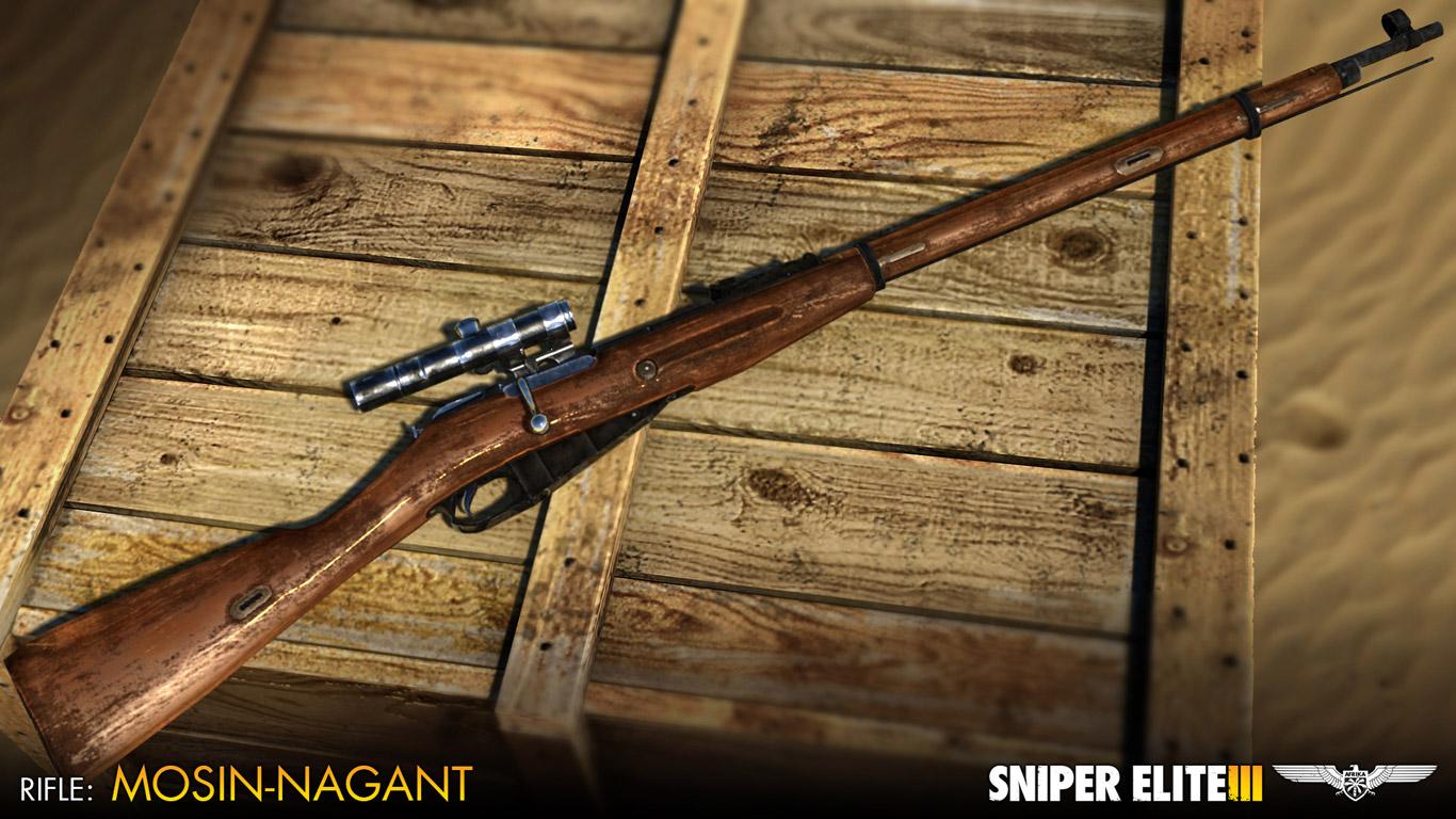 Sniper Elite 3 Wallpaper in 1366x768