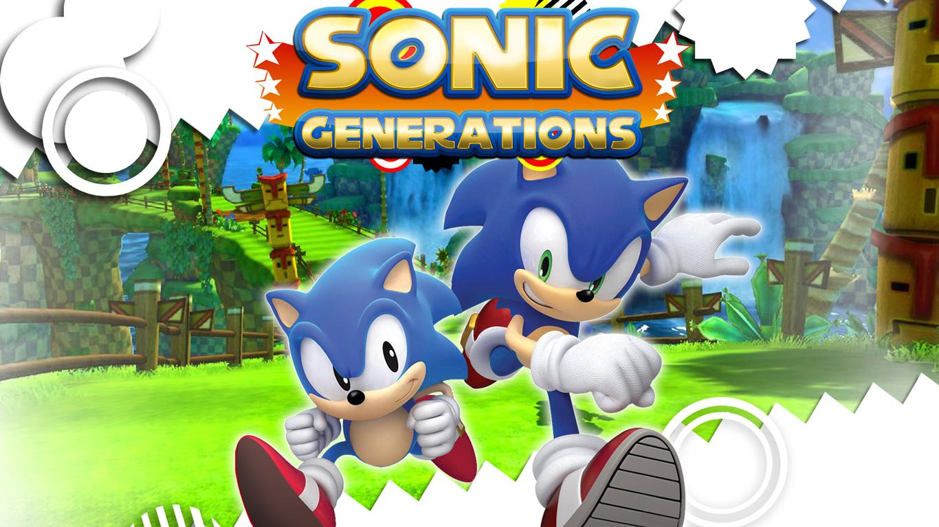 Free Sonic Generations Wallpaper in 1366x768