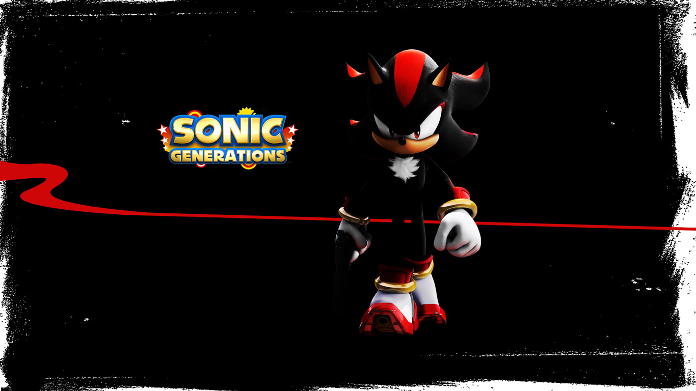 Free Sonic Generations Wallpaper in 1366x768