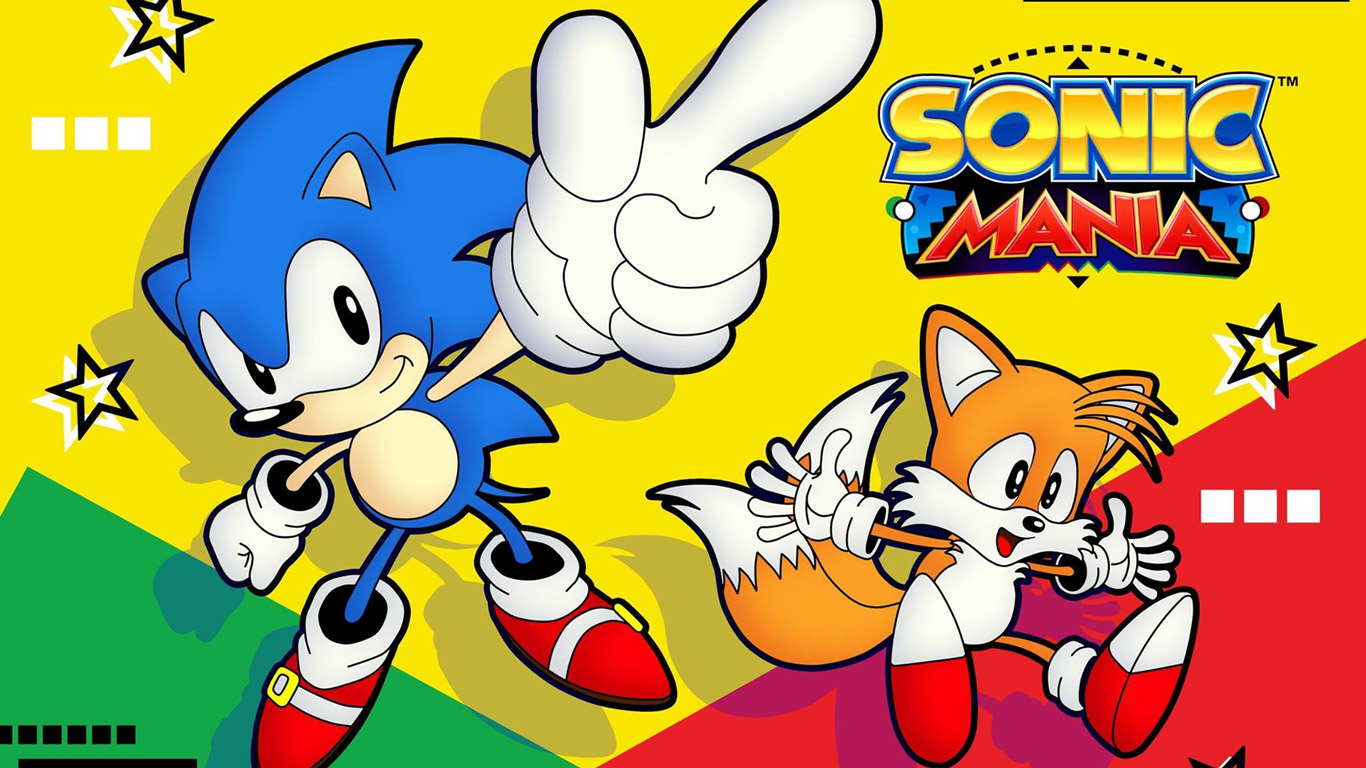 Free Sonic Mania Wallpaper in 1366x768