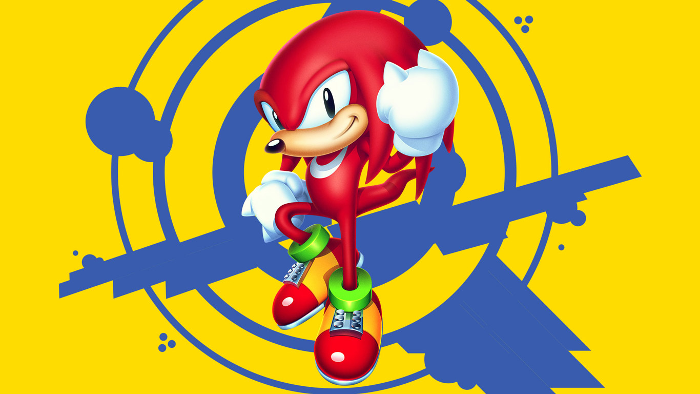 Free Sonic Mania Wallpaper in 1366x768