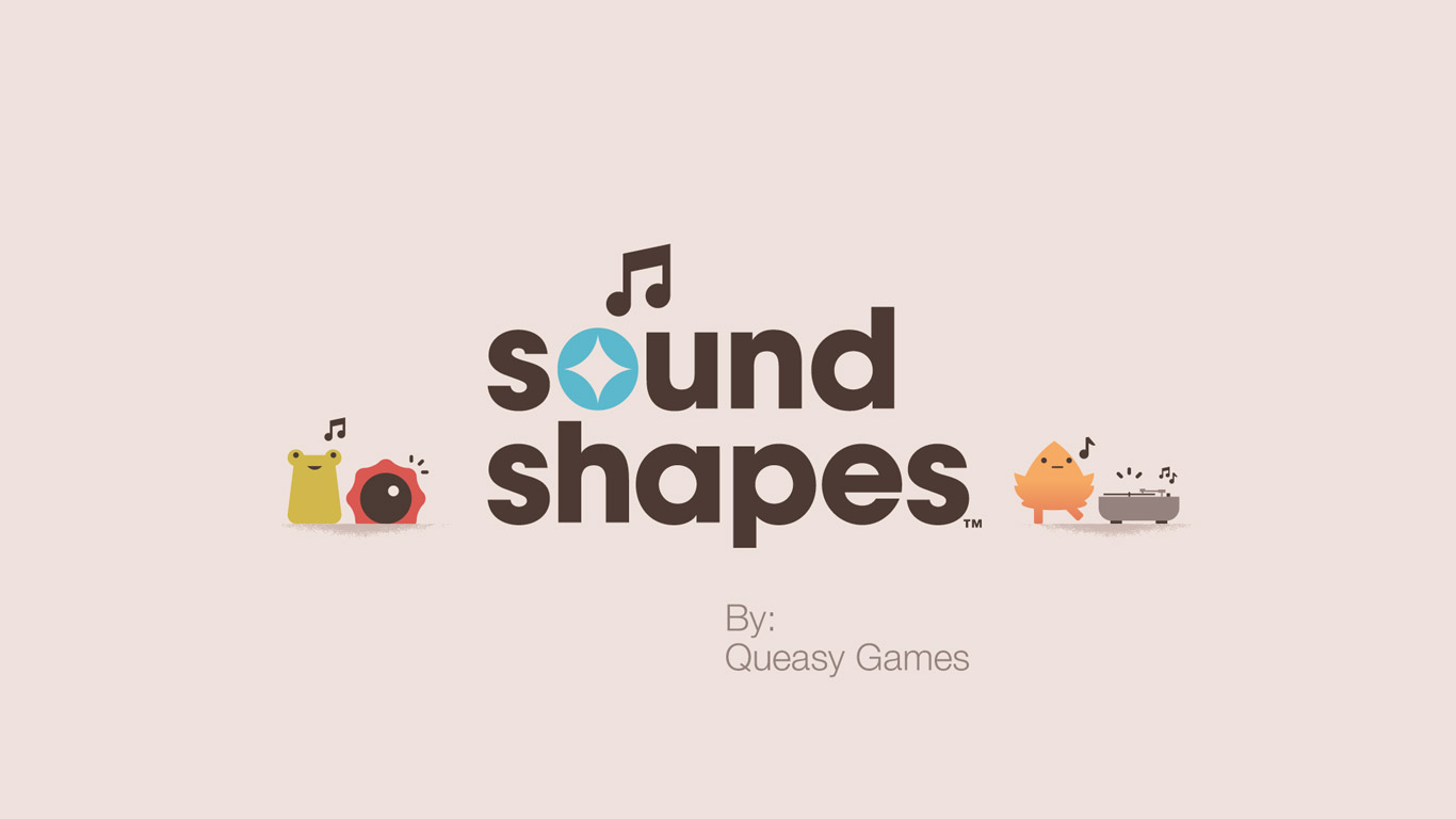 Free Sound Shapes Wallpaper in 1366x768