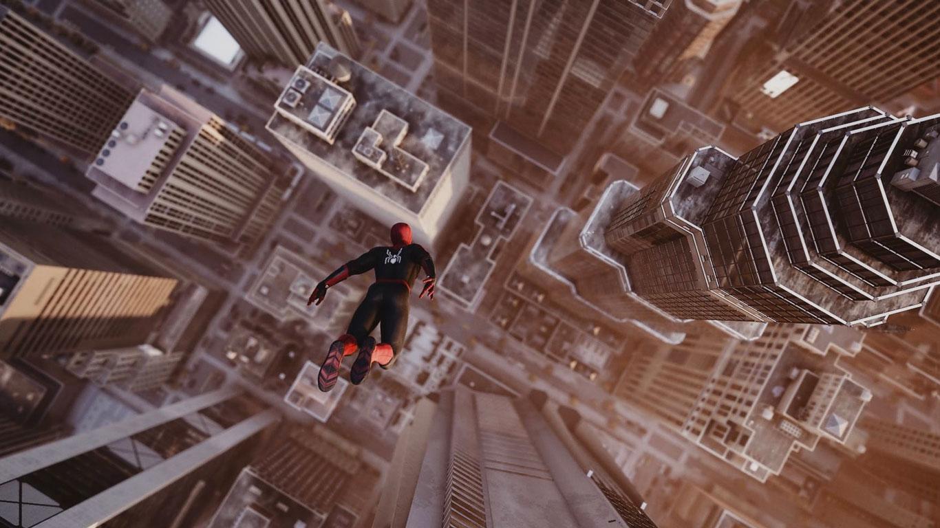 Free Spider-Man Wallpaper in 1366x768