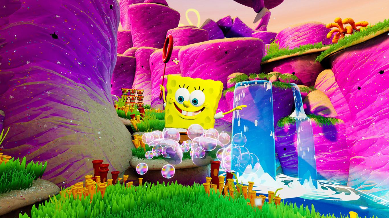 SpongeBob SquarePants: Battle for Bikini Bottom Wallpaper in 1366x768