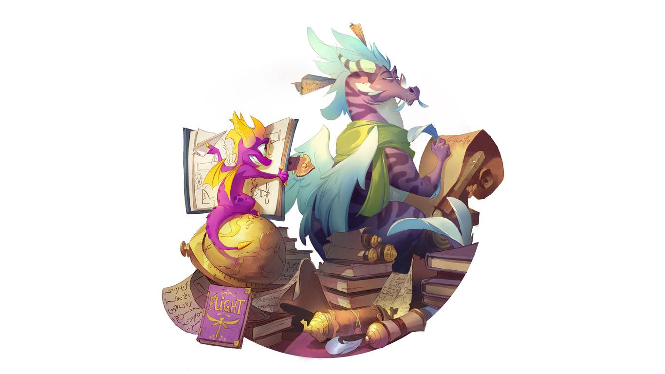 Free Spyro the Dragon Wallpaper in 1366x768
