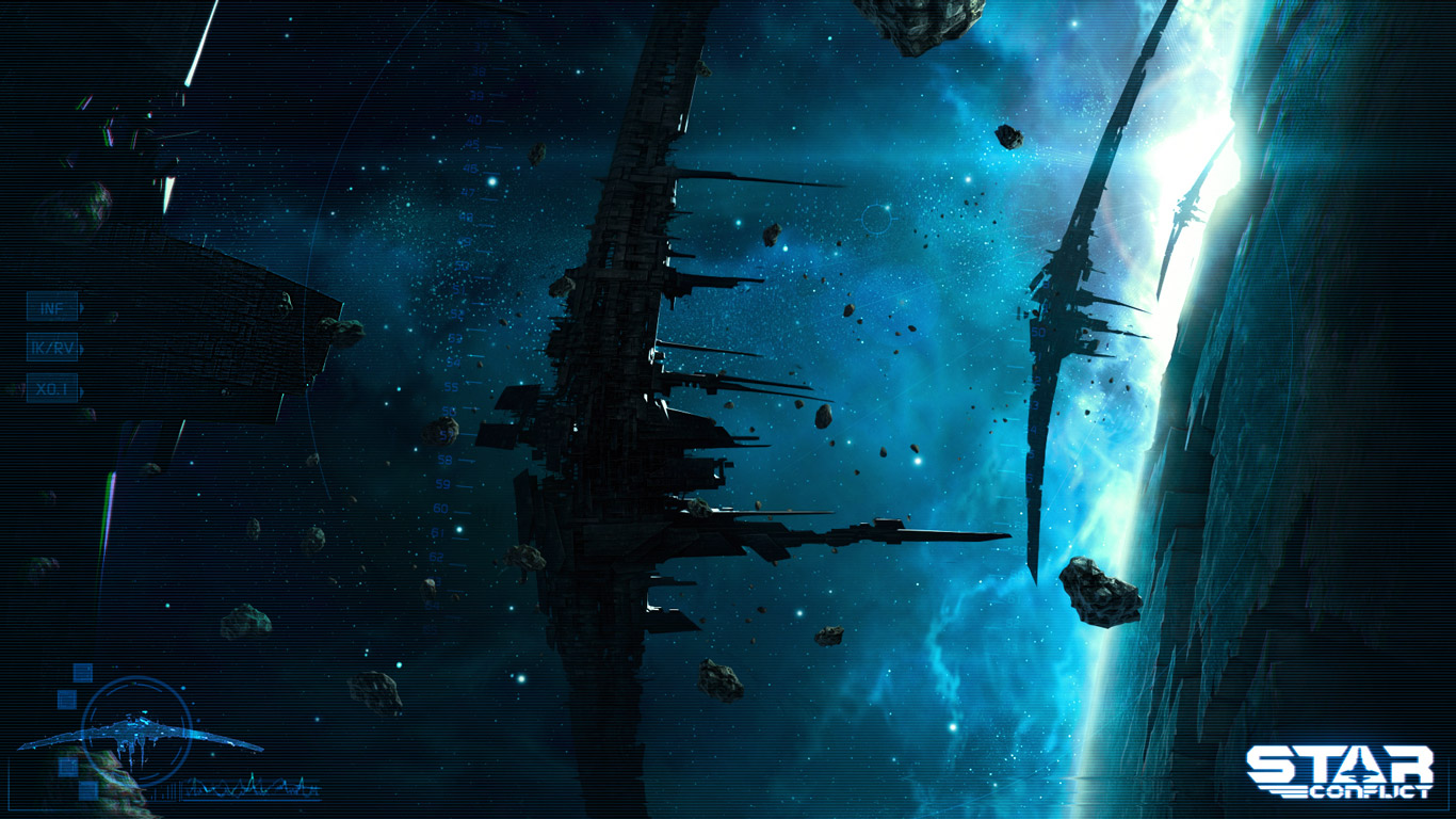 Free Star Conflict Wallpaper in 1366x768