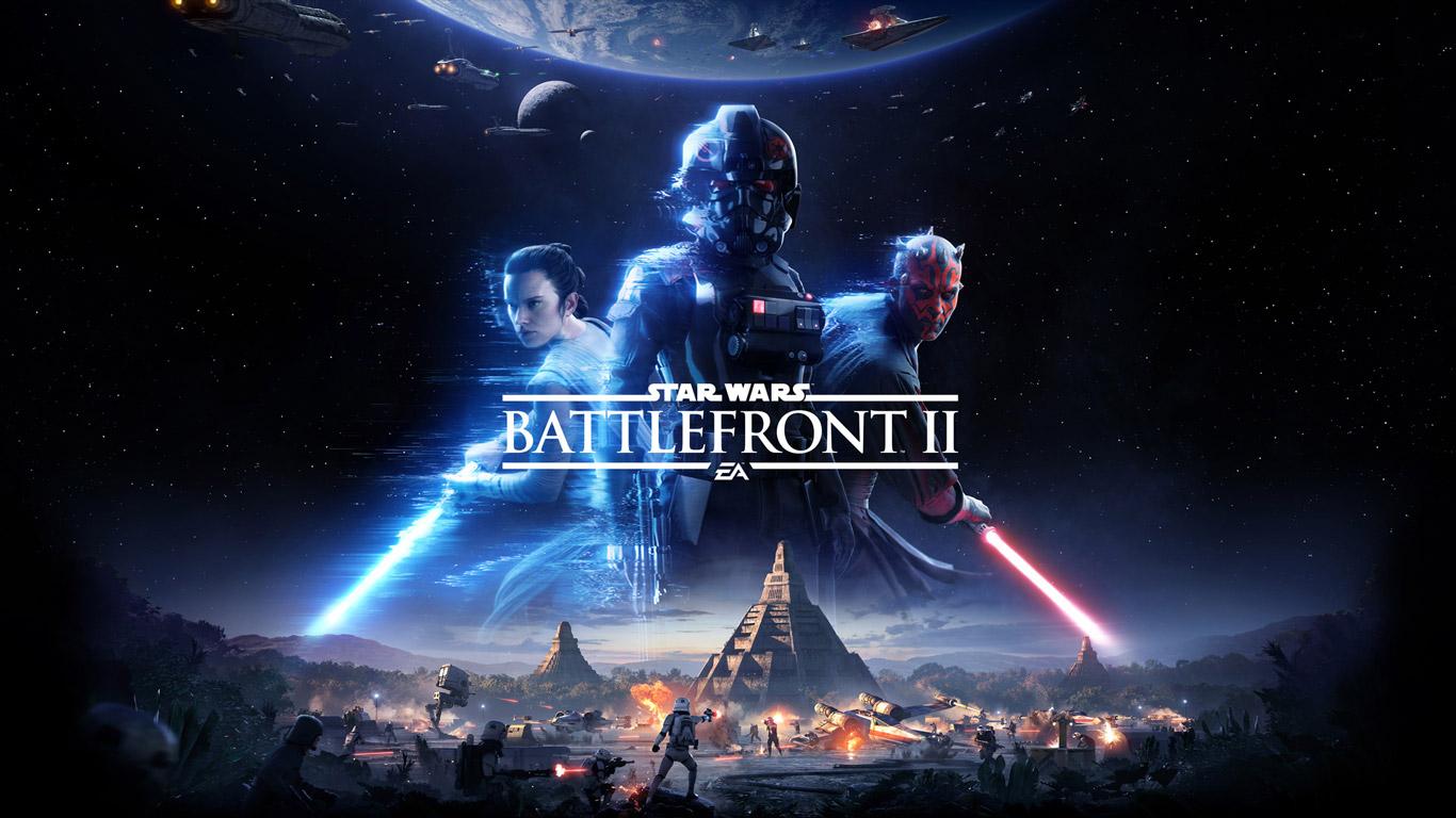Star Wars: Battlefront II Wallpaper in 1366x768
