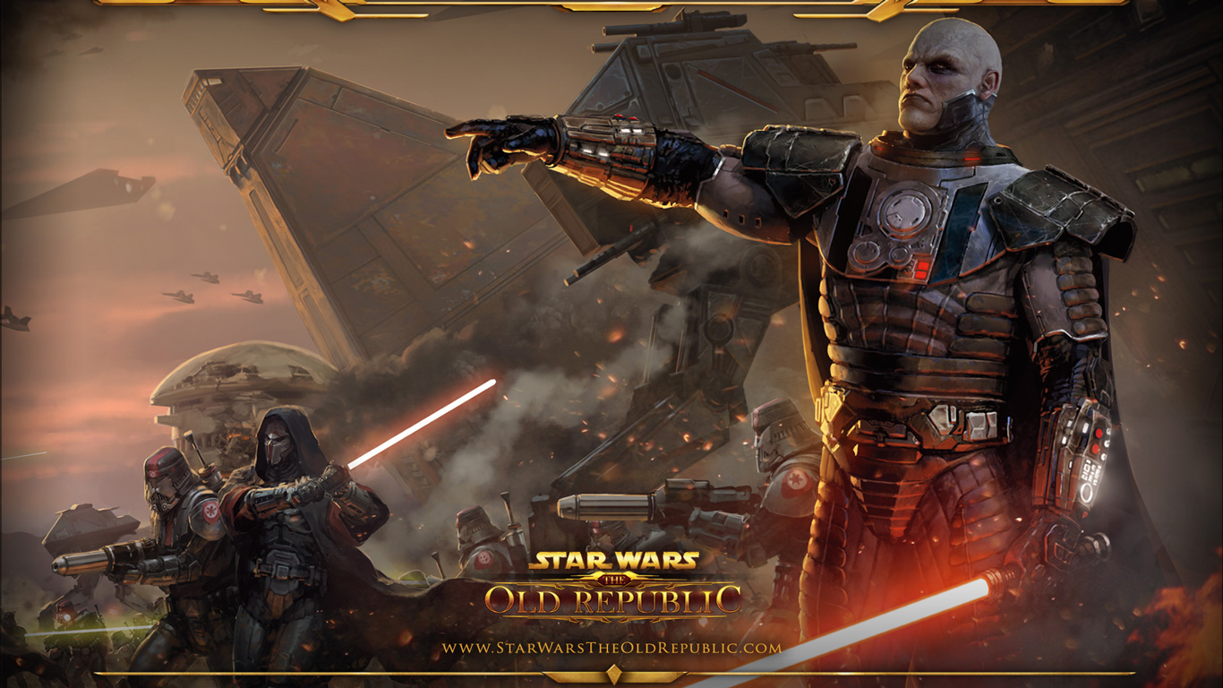 Free Star Wars: The Old Republic Wallpaper in 1366x768