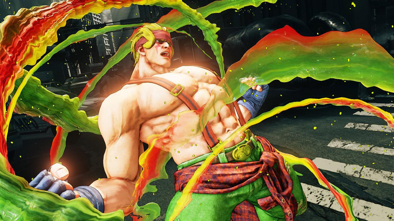 Free Street Fighter V Wallpaper in 1366x768