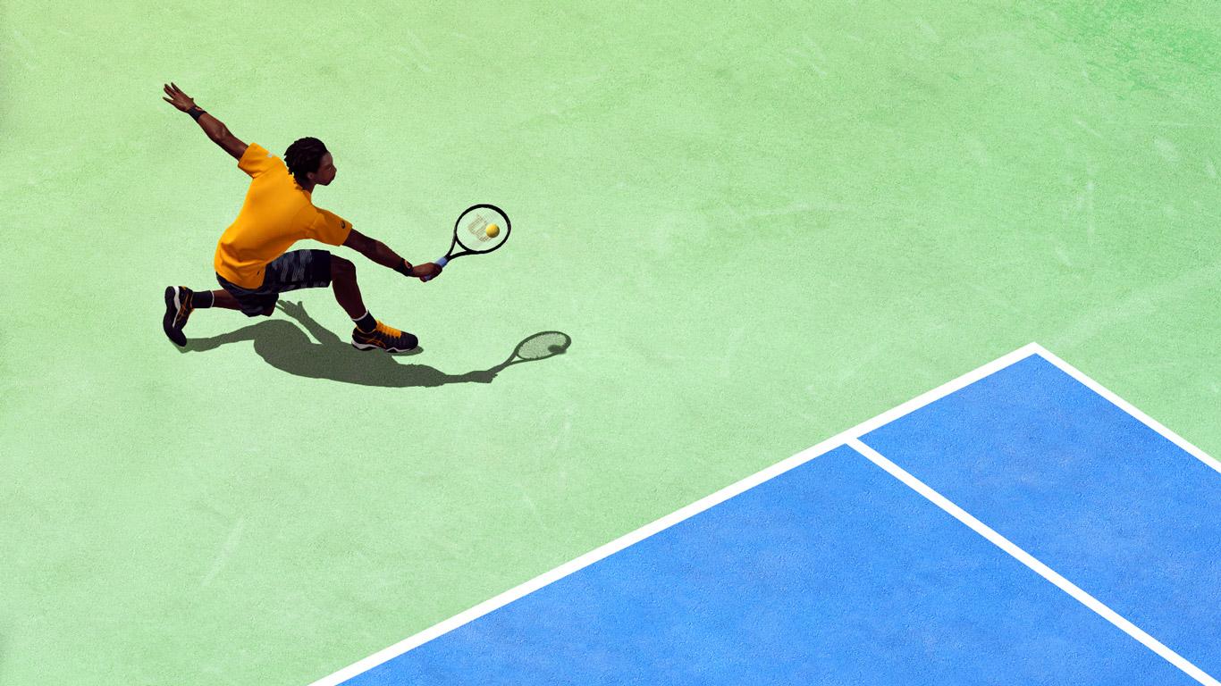 Tennis World Tour Wallpaper in 1366x768