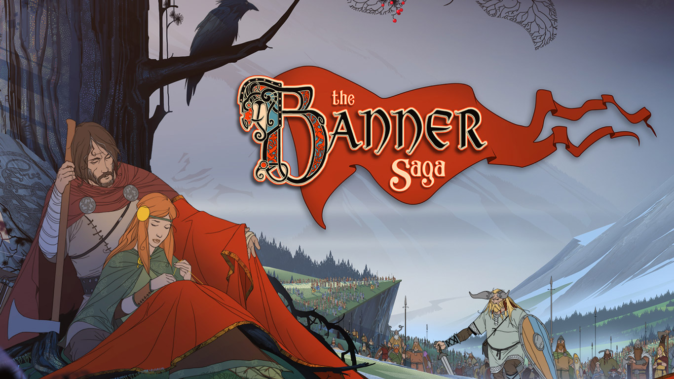 Free The Banner Saga Wallpaper in 1366x768