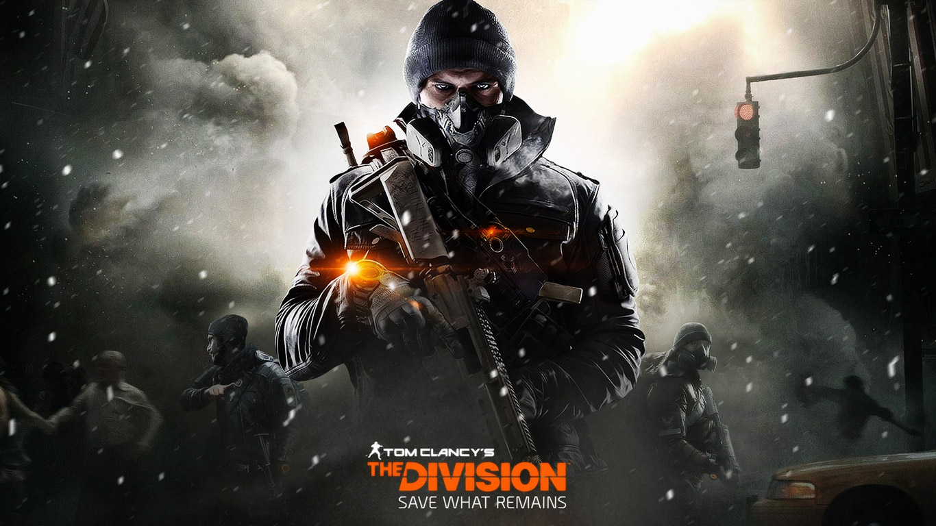 Free The Division Wallpaper in 1366x768
