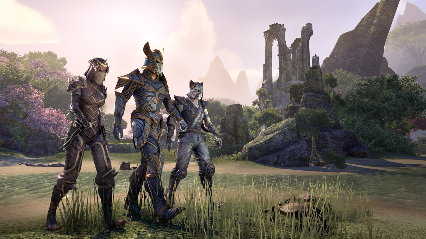 Free The Elder Scrolls Online Wallpaper in 1366x768