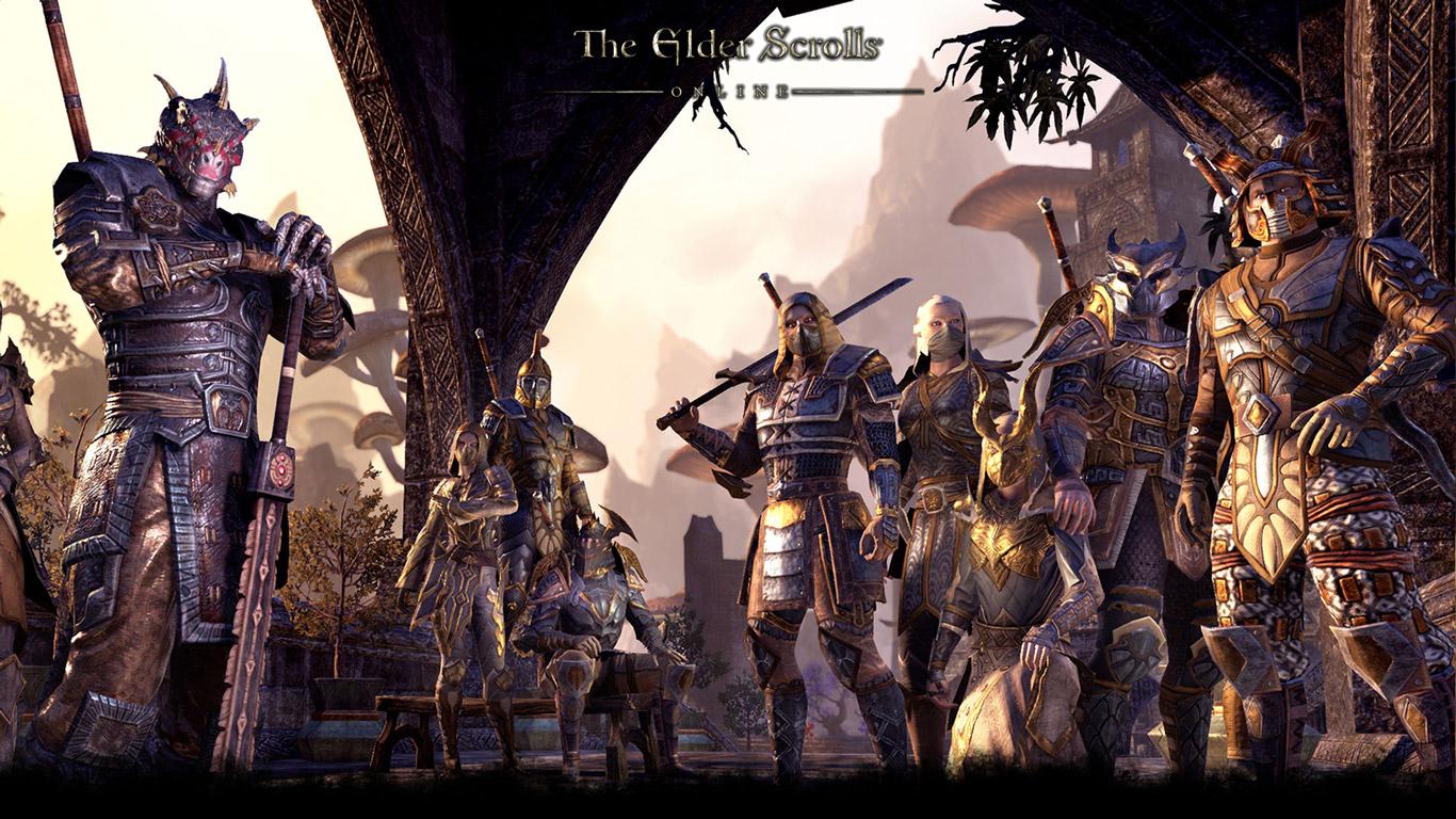 Free The Elder Scrolls Online Wallpaper in 1366x768