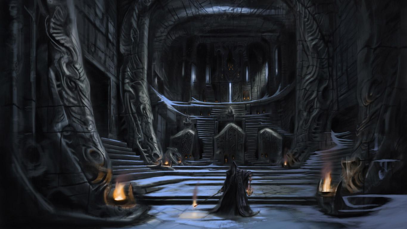 Free The Elder Scrolls V: Skyrim Wallpaper in 1366x768