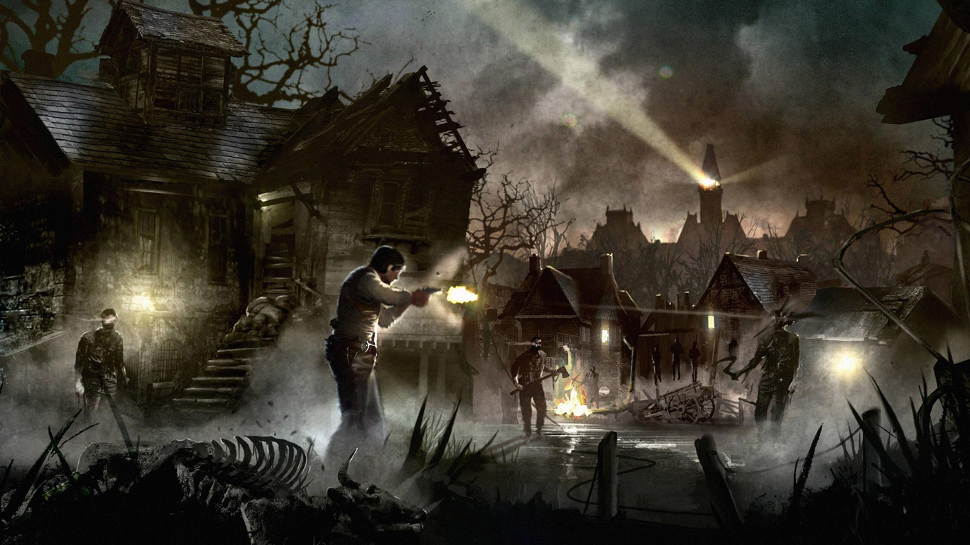 The Evil Within Wallpaper in 1366x768