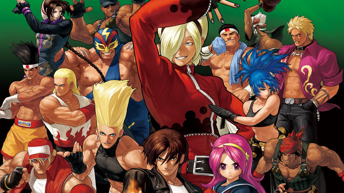 Free The King of Fighters XII Wallpaper in 1366x768