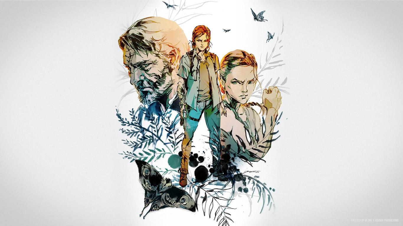 Free The Last of Us Part II Wallpaper in 1366x768