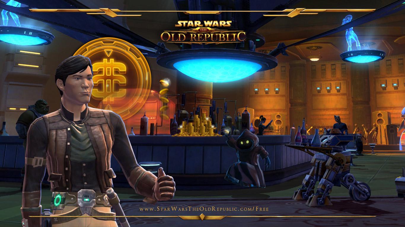 Free Star Wars: The Old Republic Wallpaper in 1366x768