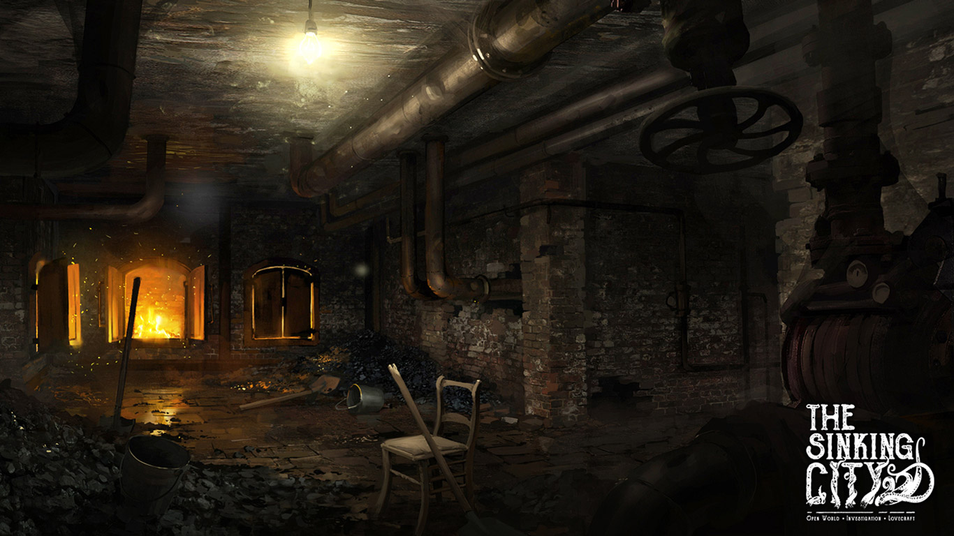 The Sinking City Wallpaper in 1366x768