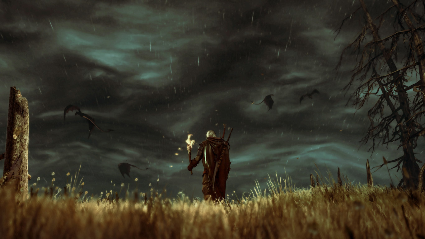 The Witcher 3 Wallpaper in 1366x768