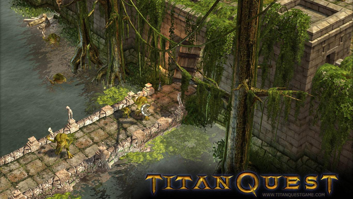 Free Titan Quest Wallpaper in 1366x768