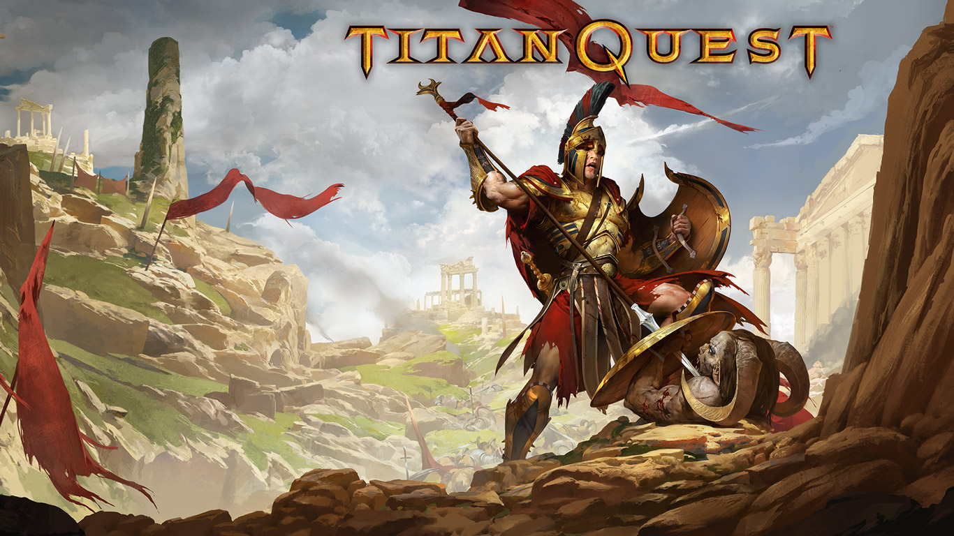 Titan Quest Wallpaper in 1366x768