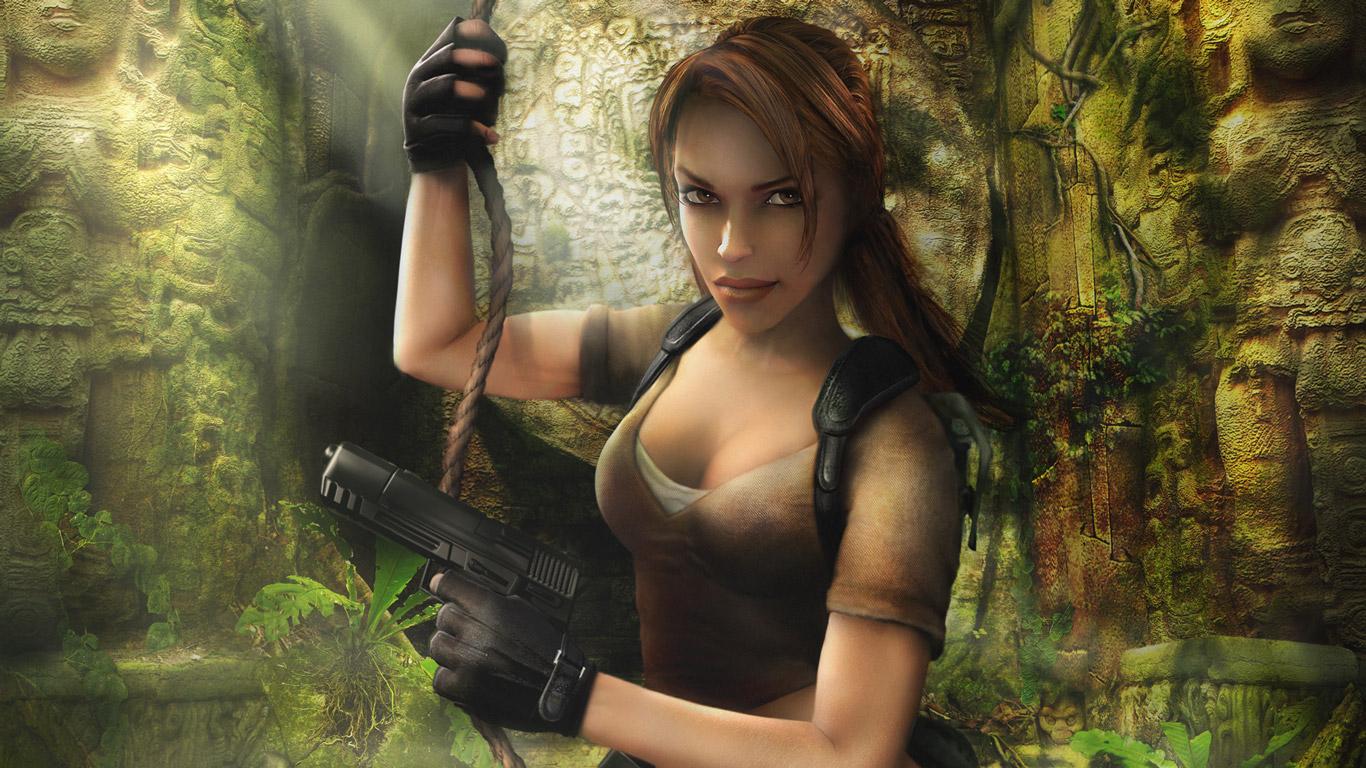 Free Tomb Raider: Legend Wallpaper in 1366x768