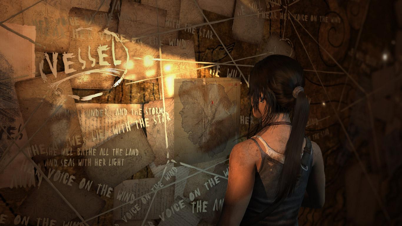 Tomb Raider Wallpaper in 1366x768