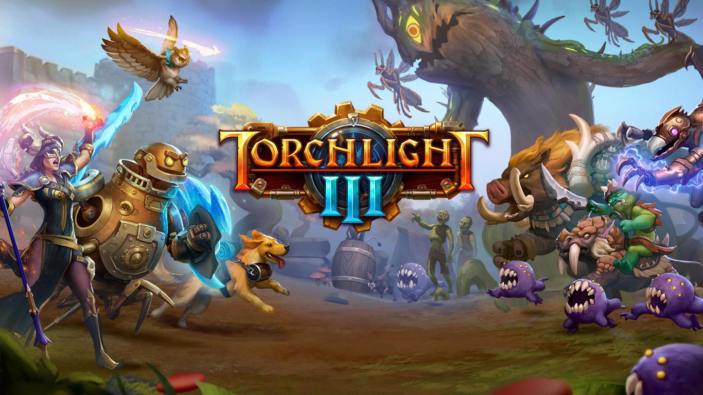 Free Torchlight III Wallpaper in 1366x768